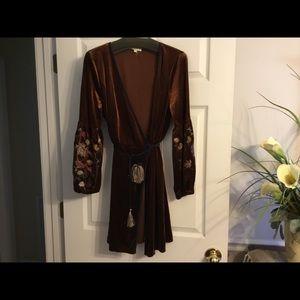 Entro Velvet Jacket/Long Top